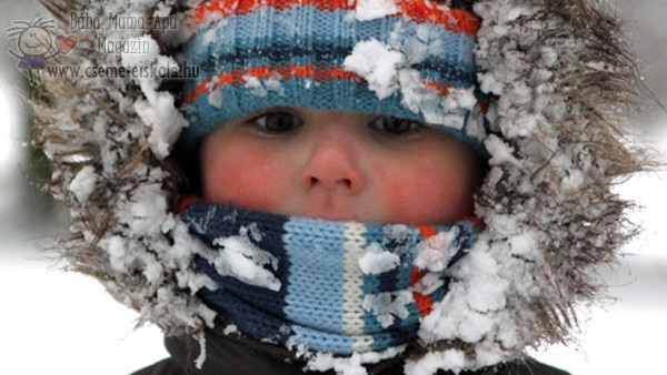 Hogyan védjük a gyermekek bőrét a hidegben?