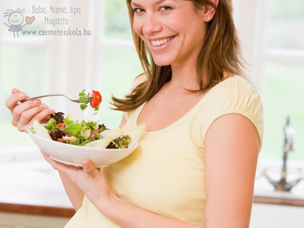 Fontos az egészséges és változatos táplálkozás a várandósság alatt