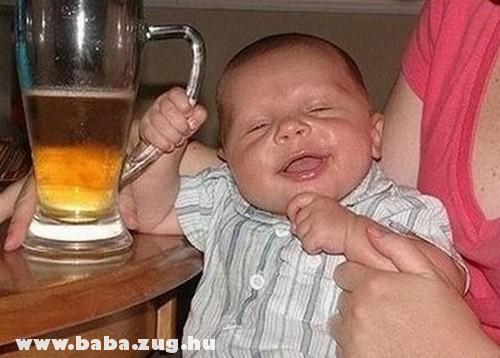 A baba és az itala