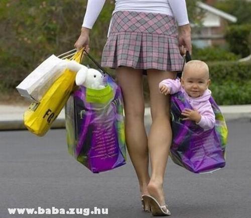 Kész a bevásárlás