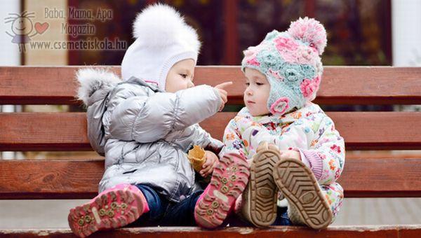 Barátkozós gyerekek