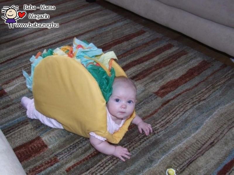 Hamburger baby