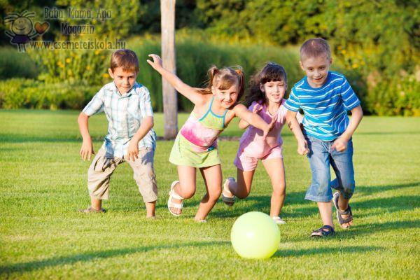 Játék a szabadban