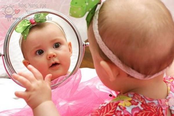 Jéé, felfedeztem a  tükörképem