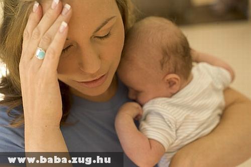 A szülés utáni depresszió egyre gyakoribb probléma az anyáknál