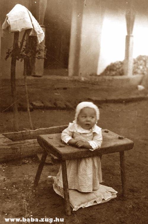 Állószék (babycomp) 1880-ból