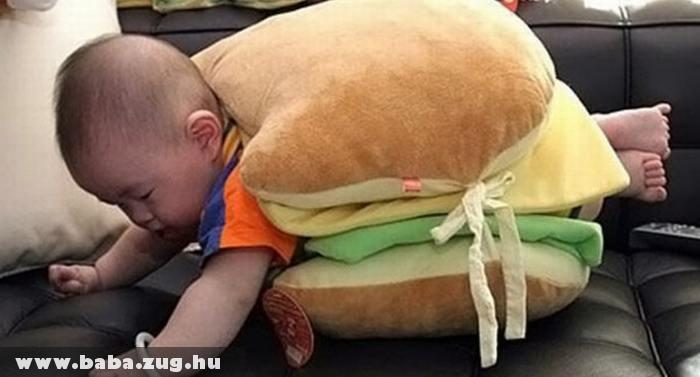 Hamburger baby