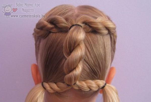 Dús haj, szép hajfonat