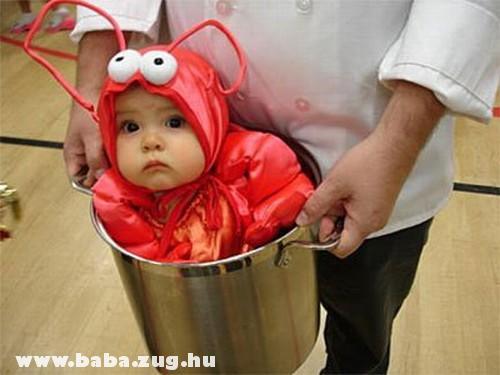 Lábosban a baba