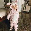 Baba húsvéti nyuszi jelmez