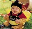 Méhecskének öltözve